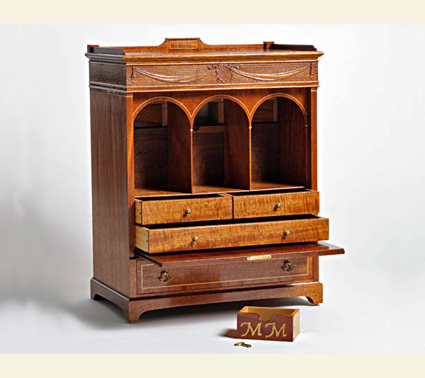 Federal Style McIntyre Cabinet